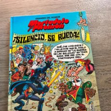 Cómics: GRANDES DEL HUMOR Nº 8, SILENCIO , SE RUEDA , MORTADELO Y FILEMÓN , TAPA DURA , AÑO 1997, EDICONES B. Lote 288641043