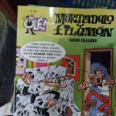 Cómics: COLECCIÓN OLÉ!. MORTADELO Y FILEMÓN. SAFARI CALLEJERO. Nº 98. Lote 288678558