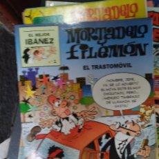 Cómics: EL MEJOR IBÁÑEZ Nº 1. MORTADELO Y FILEMÓN. EL TRASTOMOVIL. Lote 288902788