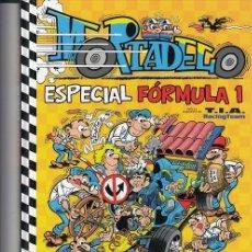 Cómics: MORTADELO - ESPECIAL FROMULA 1 - TAPA DURA - EDICIONES B - IMPECABLE #. Lote 288905458