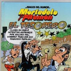 Cómics: MORTADELO Y FILEMON. MAGOS DEL HUMOR. EL TESORERO. Nº 167. EDICIONES B 2015. Lote 289253498