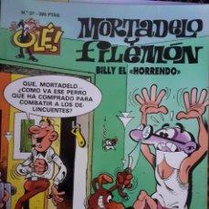 Cómics: MORTADELO Y FILEMON - OLÉ 37 2ª EDICIÓN 1998. Lote 289783798