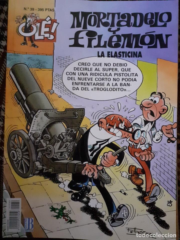 MORTADELO Y FILEMON - OLÉ 39 2ª EDICIÓN 1998 (Tebeos y Comics - Ediciones B - Humor)