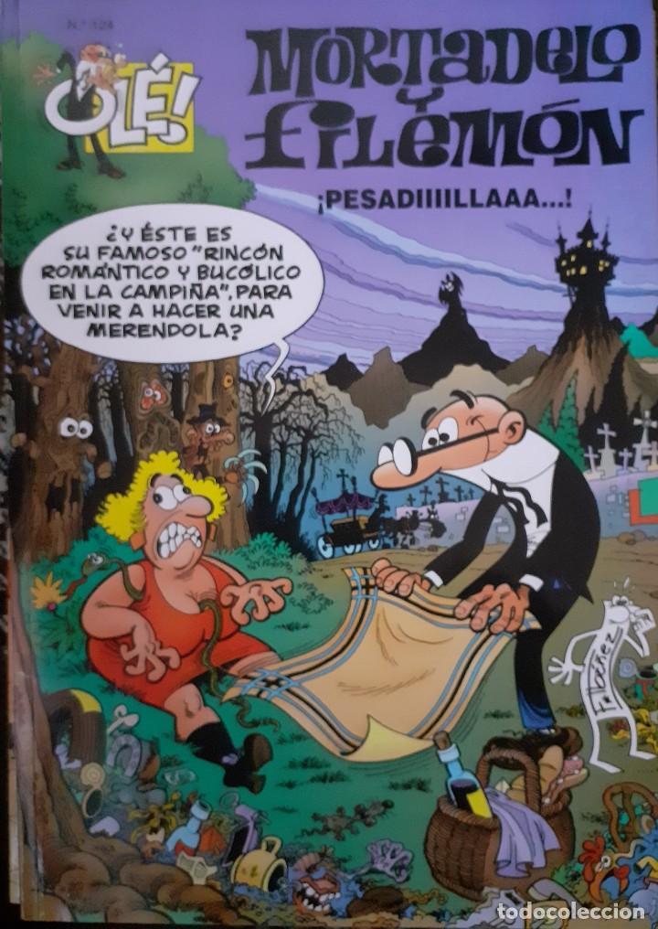 MORTADELO Y FILEMON - OLÉ 124 2ª EDICIÓN 2000 (Tebeos y Comics - Ediciones B - Humor)