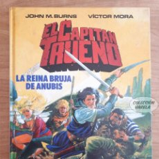 Cómics: EL CAPITÁN TRUENO - LA REINA BRUJA DE ANUBIS - EDICIONES B - TAPA DURA. Lote 289842708