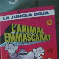 Cómics: LA JUNGLA BOJA. Nº 1. L'ANIMAL ENMASCARAT. EDICIONES B, 1989. Lote 289868883