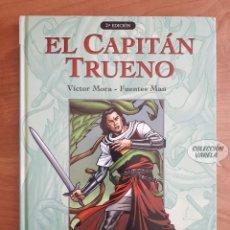 Cómics: EL CAPITÁN TRUENO - VÍCTOR MORA FUENTES MAN - TOMO 2 - EDICIONES B. Lote 289878128