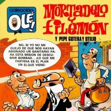 Cómics: OLÉ!-MORTADELO-BRUGUERA- Nº 280 -EL BACILÓN-CASI CORRECTO-1983-CON PEPE GOTERA-ESCASO-LEA-5601. Lote 289889918