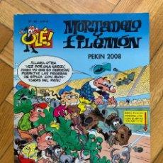 Cómics: COLECCIÓN OLÉ Nº 182 MORTADELO Y FILEMÓN: PEKÍN 2008 - EXCELENTE ESTADO. Lote 290086043