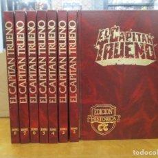 Fumetti: EL CAPITAN TRUENO - EDICION HISTORICA - 8 TOMOS COMPLETA - PRIMERA SERIE - MUY BUEN ESTADO. Lote 292139638