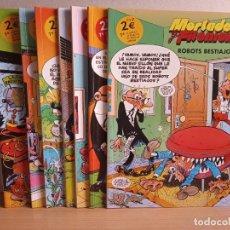 Fumetti: LOTE DE 7 TEBEOS DE MORTADELO Y FILEMON . EICIONES B 2005. Lote 292526548