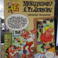 Cómics: MORTADELO Y FILEMÓN ¡MISIÓN TRIUNFO! - COLECCIÓN OLÉ Nº 164 - 1ª EDICION. Lote 293739538