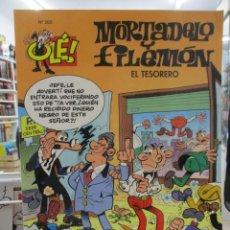 Cómics: MORTADELO Y FILEMÓN - EL TESORERO - COLECCIÓN OLÉ Nº 202 - 1ª EDICION. Lote 293740938