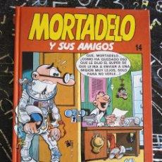 Cómics: EDICIONES B - MORTADELO Y SUS AMIGOS TOMO NUM. 14 . TAPA DURA. MUY BUEN ESTADO. Lote 294078368