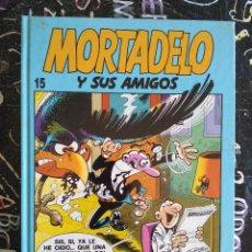 Cómics: EDICIONES B - MORTADELO Y SUS AMIGOS TOMO NUM. 15 . TAPA DURA. MUY BUEN ESTADO. Lote 294079048