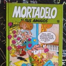 Cómics: EDICIONES B - MORTADELO Y SUS AMIGOS TOMO NUM. 18 . TAPA DURA. MUY BUEN ESTADO. Lote 294079883