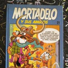 Cómics: EDICIONES B - MORTADELO Y SUS AMIGOS TOMO NUM. 21 . TAPA DURA. MUY BUEN ESTADO . DIFICIL. Lote 294080868