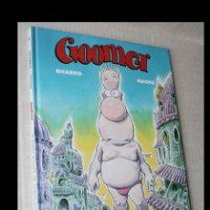 Cómics: GOOMER (DE RICARDO & NACHO), TOMO 1: EL GORDO MUTANTE DEL ESPACIO EXTERIOR.. Lote 294087793