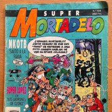 Cómics: SUPER MORTADELO 104. Lote 294147653