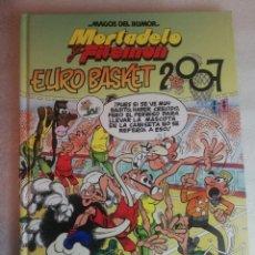 Cómics: MORTADELO Y FILEMON, EURO BASKET 2007 - MAGOS DEL HUMOR. Lote 294153988