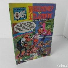 Cómics: OLÉ Nº 97-M 63 MORTADELO Y FILEMÓN EN LA OLIMPIADA (F.IBAÑEZ) EDICIONES B GRUPO Z 1988. Lote 294171538