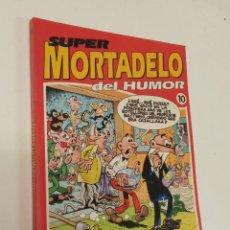 Cómics: SUPER MORTADELO DEL HUMOR / RETAPADO Nº 10 CON 5 NUMEROS / EDICIONES B. Lote 294569208