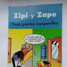 Cómics: ZIPI Y ZAPE: UNOS GEMELOS INSEPARABLES. EDICIONES B. TDKC46. Lote 294938973