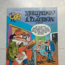 Cómics: MORTADELO Y FILEMÓN - EL BRUJO - OLÉ N ° 27 - AÑO 1999. Lote 295001078