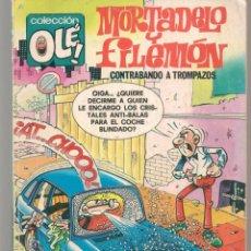 Cómics: COLECCIÓN OLÉ!. Nº 160 M. 84. MORTADELO Y FILEMÓN. CONTRABANDO A TROMPAZOS. EDICIONES B. 1989(C/A13). Lote 295288593