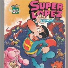 Cómics: COLECCIÓN OLE. SUPER LÓPEZ. Nº 1-SL. AVENTURAS DE SUPERLÓPEZ. EDICIONES B. 1ª REIMPRESIÓN 1990(P/C55. Lote 295297228