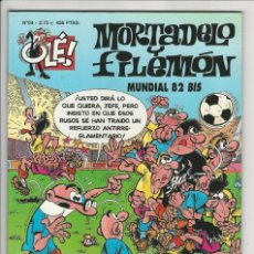 Cómics: EDICIONES B. OLÉ MORTADELO. 64. SIN RELIEVE. MUNDIAL.. Lote 290083743