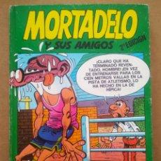 Cómics: MORTADELO Y SUS AMIGOS VOLUMEN 1 (EDICIONES B, 1988). MORTADELO N°73-74-75 Y ZIPI ZAPE N°58-59-60.. Lote 295593343
