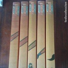 Cómics: LAS MEJORES HISTORIETAS DE MORTADELO Y FILEMON .5 TOMOS. EDICIONES B.1987.. Lote 295696313