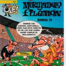 Cómics: COLECCION OLE MORTADELO Y FILEMON MUNDIAL 78. EDICIONES B. Lote 295845938
