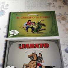 Cómics: CÓMIC ZETA LOTE 2 VOL: 107 EL CORSARIO DE HIERRO + 108 EL JABATO. 1ª EDICIONES. Lote 296622088