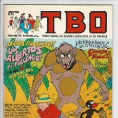 Cómics: EDICIONES B. TBO. 15.. Lote 296765693
