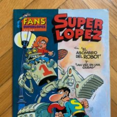 Cómics: FANS SUPER LÓPEZ Nº 14: EL ASOMBRO DEL ROBOT - D6. Lote 296971708