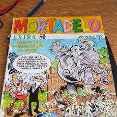 """Cómics: ºº MORTADELO """"EXTRA 50"""" DISFRUTA CON LA MEJOR COSECHA DE HUMOR - AÑO EDICIÓN 1992 - LEER DESCRIPCIÓN. Lote 297019203"""