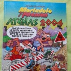 """Cómics: COMIC """"MAGOS DEL HUMOR"""" Nº 100 MORTADELO Y FILEMÓN TITULADO """"ATENAS 2004"""". Lote 297019668"""
