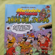 """Cómics: COMIC """"MAGOS DEL HUMOR"""" Nº 162 MORTADELO Y FILEMÓN TITULADO """"MUNDIAL 2014"""". Lote 297020263"""
