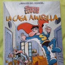 """Cómics: COMIC """"MAGOS DEL HUMOR"""" Nº 108 SUPERLÓPEZ TITULADO""""LA CASA AMARILLA"""". Lote 297020888"""