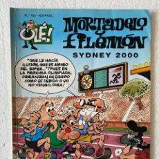 Cómics: MORTADELO Y FILEMÓN - SYDNEY 2000 - OLÉ #153 EDICIONES B 3ª ED.. Lote 297174453