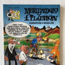 Cómics: MORTADELO Y FILEMÓN «CORRUPCIÓN A MOGOLLÓN» OLÉ #125 EDICIONES B 3ª ED.. Lote 297175143