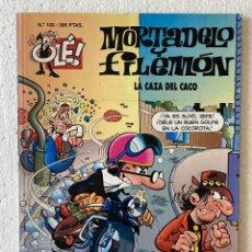 Cómics: MORTADELO Y FILEMÓN «LA CAZA DEL CACO» OLÉ #103 EDICIONES B 3ª ED.. Lote 297175743