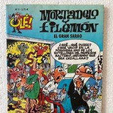 Cómics: MORTADELO Y FILEMÓN «EL GRAN SARAO» OLÉ #5 EDICIONES B 3ª ED.. Lote 297176838