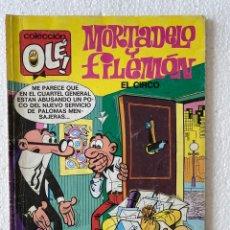 Cómics: MORTADELO Y FILEMÓN «EL CIRCO» OLÉ #105 M.61 EDICIONES B. Lote 297178238