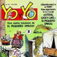 Cómics: YO Y YO-TEBEOS, S.A.- Nº 24 -ASTÉRIX-CUPIDÓN-LUCKY LUKE-RAMIS-1990-CASI BUENO-DIFÍCIL-LEA-5708. Lote 297370163