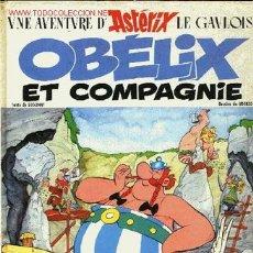 Cómics: UNE AVENTURE D' ASTERIX LE GAVLOIS-OBELIX ET COMPAGNIE,DARGAUD EDITEUR,1976. Lote 23346607