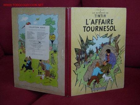 TINTIN. L'AFFAIRE TOURNESOL (CASTERMAN). (Tebeos y Comics - Comics Lengua Extranjera - Comics Europeos)