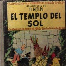 Cómics: * TINTÍN * EL TEMPLO DEL SOL / HERGÉ - 2ª EDICIÓN, 1961. Lote 21664934